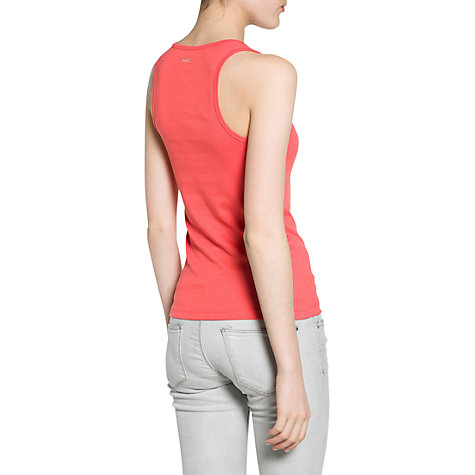 Buy Mango Essential Strap Vest Top Online at johnlewis.com