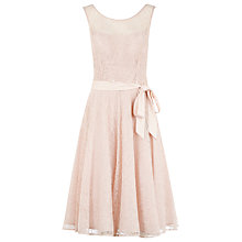 Buy Kaliko Lace Prom Dress, Pink Online at johnlewis.com