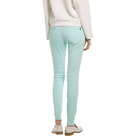Buy Mango Colour Jeggings, Turquoise Online at johnlewis.com