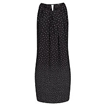 Buy Mango Bow Polka Dot Dress, Black Online at johnlewis.com