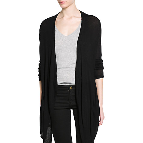 Buy Mango Waterfall Long Cardigan Online at johnlewis.com