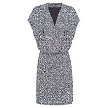 Buy Mango Animal Print Dress, Natural White Online at johnlewis.com