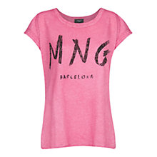 Buy Mango Logo T-Shirt Online at johnlewis.com