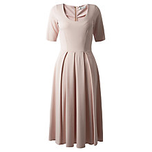 Buy Closet Scoop Neck Midi Dress, Pale Pink Online at johnlewis.com