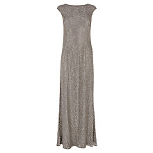 Buy Coast Cosmic Maxi Dress, Gun Metal Online at johnlewis.com