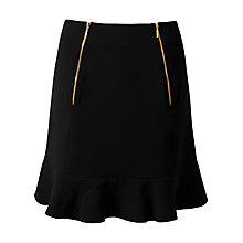 Buy Closet Pephem Skirt, Black Online at johnlewis.com