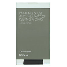 Buy John Lewis Glass Strip Photo Frames Online at johnlewis.com