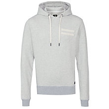 Buy G-Star Raw Troup Hooded Sweatshirt, Light Grey Online at johnlewis.com