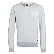 Buy G-Star Raw Troup Sweatshirt, Grey Online at johnlewis.com