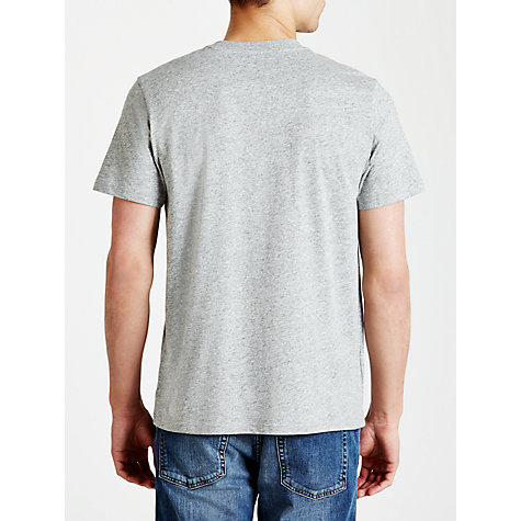 Buy Fred Perry Classic Crew Neck T-Shirt, Vintage Steel Marl Online at johnlewis.com
