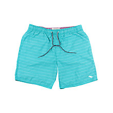 Buy Ted Baker Flitt Herringbone Swim Shorts, Green Online at johnlewis.com
