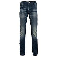 Buy G-Star Raw New Radar Memphis Slim Jeans, Black/Blue Online at johnlewis.com
