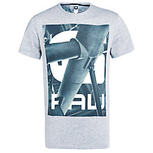 Buy G-Star Raw Steeste Graphic Print T-Shirt Online at johnlewis.com