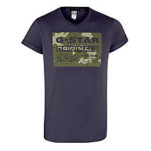 Buy G-Star Raw Fagan Graphic Print T-Shirt Online at johnlewis.com