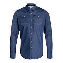 Buy G-Star Raw Arc 3D Denim Shirt, Raw Online at johnlewis.com