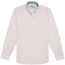Buy Ted Baker Byejoe Paisley Print Shirt, White Online at johnlewis.com