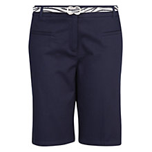 Buy Mango Belted Bermuda Shorts Online at johnlewis.com