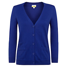 Buy NW3 By Hobbs Elise Cardigan, Rain Blue Online at johnlewis.com