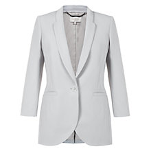 Buy Hobbs Dovecoat Jacket, Silver Grey Online at johnlewis.com