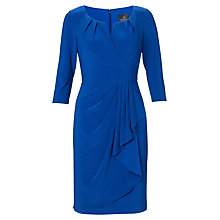 Buy Adrianna Papell Pull Through Wrap Dress, Pacific Online at johnlewis.com