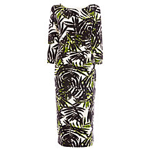 Buy Wishbone Ruby Fern Print Jersey Dress, Multi Online at johnlewis.com