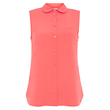 Buy NW3 by Hobbs Nomad Shirt, Florescent Orange Online at johnlewis.com