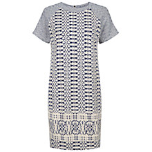 Buy NW3 by Hobbs Lois Dress, Blue Multi Online at johnlewis.com