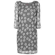 Buy Phase Eight Daisy Dot Tunic Top, Pewter Online at johnlewis.com