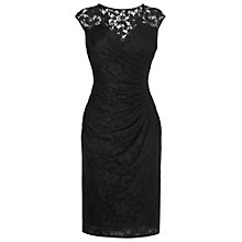Buy Phase Eight Milano Alyssa Lace Dress, Black Online at johnlewis.com