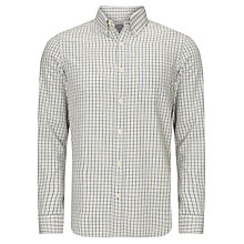 Buy John Lewis Long Sleeve Twill Window Check Shirt Online at johnlewis.com