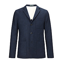 Buy JOHN LEWIS & Co. Abraham Moon Wool Deconstructed Jacket, Indigo Online at johnlewis.com
