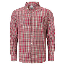Buy John Lewis Cotton Gingham Checked Shirt Online at johnlewis.com