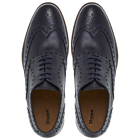 Buy Dune Brick Layer Brogue Derby Shoes Online at johnlewis.com