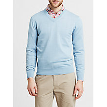 Buy Thomas Pink Sandero Jumper, Pale Blue Online at johnlewis.com