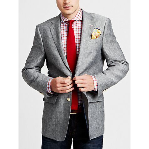 Buy Thomas Pink Eamon Jacket, Black/White Online at johnlewis.com
