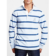 Buy Thomas Pink Marler Long Sleeve Rugby Polo Shirt Online at johnlewis.com