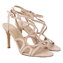 Buy Mint Velvet Ali Leather Strap Stiletto Sandals, Nude Online at johnlewis.com