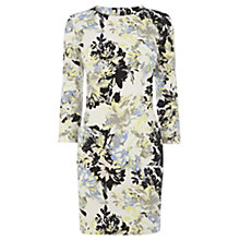 Buy Warehouse Abstract Floral Print Dress, Multi Online at johnlewis.com