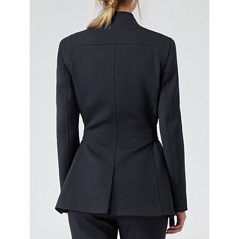 Buy Reiss Porter Seam Detail Fitted Coat Online at johnlewis.com
