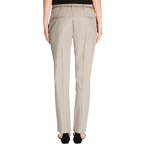 Buy Oasis Cotton Belted Trousers Online at johnlewis.com