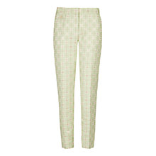 Buy Ted Baker Ruta Geo Suit Trousers, Pale Green Online at johnlewis.com