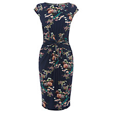 Buy Oasis Oriental Print Tube Dress, Multi Blue Online at johnlewis.com