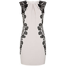 Buy Fenn Wright Manson Frances Lace Panel Dress, Silver Grey Online at johnlewis.com