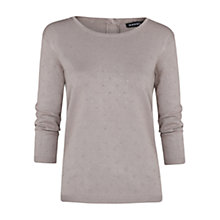 Buy Mango Embossed Polka Dot Sweater Online at johnlewis.com