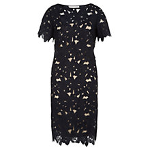 Buy Fenn Wright Manson Nalan Embroidered Shift Dress, Navy Online at johnlewis.com