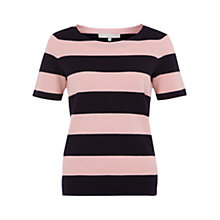 Buy Fenn Wright Manson Lorena Stripe Jumper, Navy/Pink Online at johnlewis.com