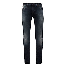 Buy Hilfiger Denim Scanton Slim Jeans, Olive Night Online at johnlewis.com