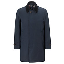 Buy Gant Detacher Coat, Navy Online at johnlewis.com