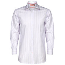 Buy Thomas Pink Neway Stripe Long Sleeve Shirt, Pink/White Online at johnlewis.com