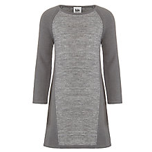 Buy Kin by John Lewis Girls' Knit Jumper Dress, Grey Online at johnlewis.com
